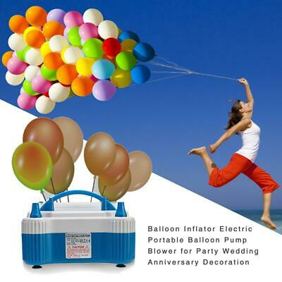 Balloon Inflator Electric Portable Balloon Pump Blower for Party Wedding Anniver