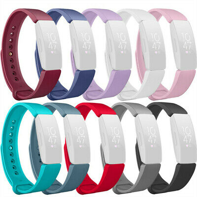 Sports Soft Silicone Replacement Watch  Band Strap For Fitbit Inspire Inspire HR