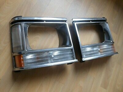 Scheinwerferrahmen Chrysler Voyager AS 87-90 chrom Scheinwerfer Blinker