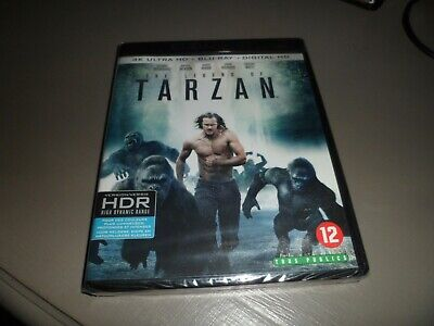 Blu Ray 4K  The Legend Of Tarzan + Blu Ray (Neuf-Sous/Blister)