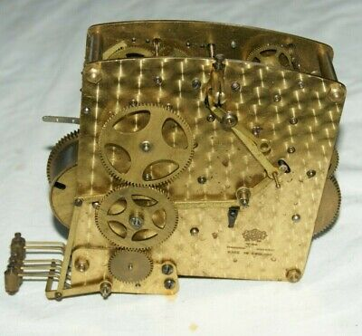 Antique GARRARD Chiming Clock Movement, Spares/Repair
