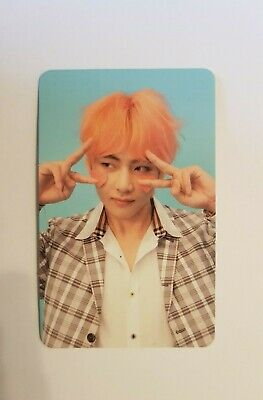 BTS Official Love Yourself Answer V Taehyung F Version Photocard UK Seller