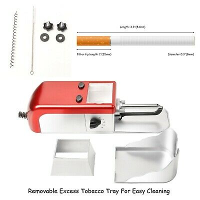 KIT Portable cigarette rolling electric machine Tobacco Injector maker 5 setting