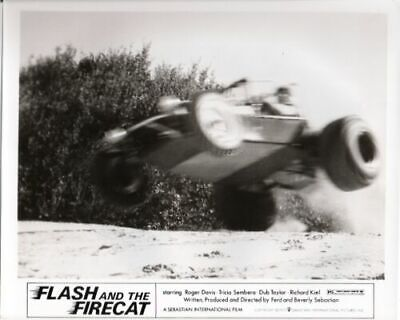 Flash And The Firecat 8x10 Black White Movie Photo Nn
