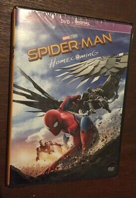 Dvd Spider-man Homecoming Neuf Sous Blister Jamais Ouvert Spiderman
