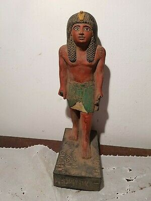 Rare Antique Ancient Egyptian Leader Army pharao Horemheb Ankh Symbol1319-1292BC