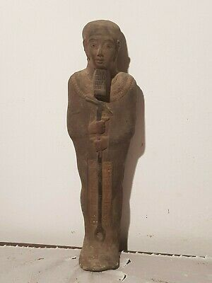 Rare Antique Ancient Egyptian Statue God Ptah Crafts & Architects 1860-1740BC