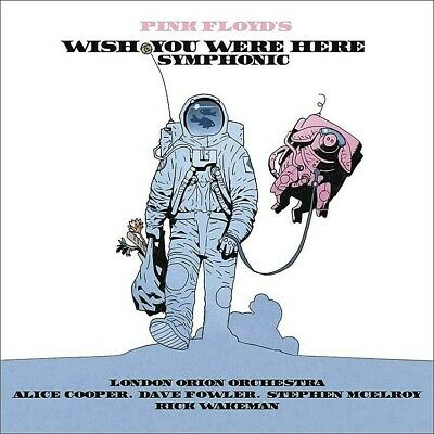 PINK FLOYD Wish You Were Here Symphonic  CD Live Alice Cooper London Orion Bonus