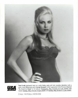 Tracy Lords 8x10 black & white photo