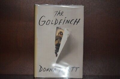 First Edition First Printing – The Goldfinch by Donna Tartt 2013 Pulitzer Prize