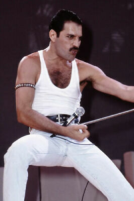 Hot Gift Poster Freddie Mercury 1986 Queen Legendery Singer 40 36x24 30x20in 004