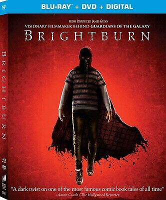Brightburn BLU-RAY/DVD/DIGITAL , Brand New With Slipcover