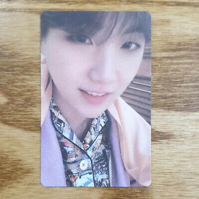 Suga Official Photocard BTS Map Of The Soul : Persona ver.03 Genuine Kpop