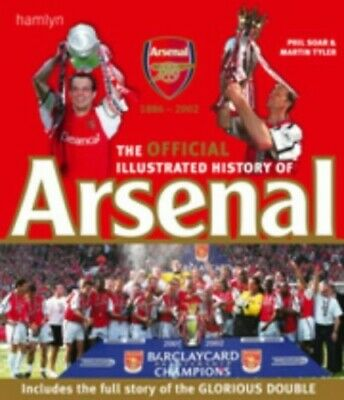 Arsenal History 2000 by Tyler, Martin Hardback Book The Cheap Fast Free Post