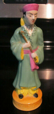Vintage Occupied Japan Pocelain China Man Collectible Rare Religion Priest