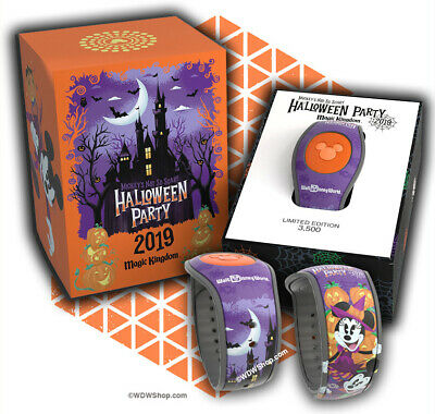 Disney Mickey's Not So Scary Halloween Party Magicband Magic Band Limited 2019
