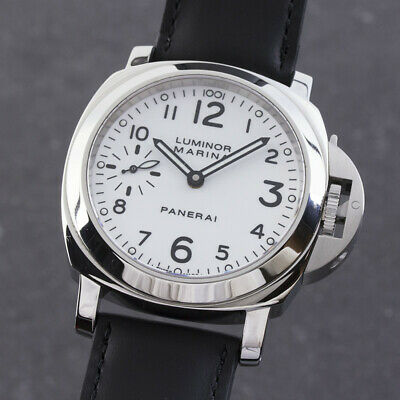 Panerai Luminor Marina Hand Wound Stainless Steel Men's Watch Ref. PAM00113 Np