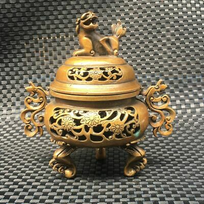 Ancient Chinese folk collectibles (incense burner)    3849     061
