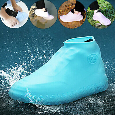 Soft Elastic Overshoes Silicone Shoes Cover Unisex Waterproof Rain Shoes Outdoor