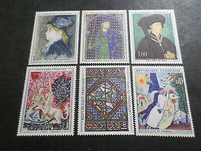 FRANCE, LOT AB, timbres TABLEAUX, ART, PEINTURES, neufs**, LUXE, PAINTING, MNH