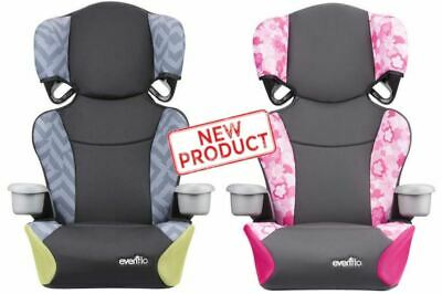 Baby Convertible Car Seat 2 in 1 Toddler Booster Kids Travel Chair Kid Safety