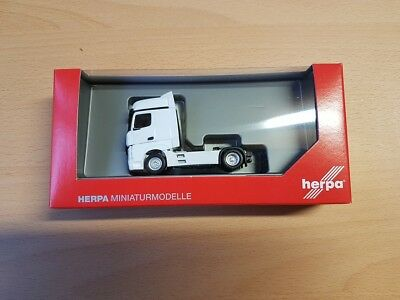 Herpa 309189 - 1/87 Mercedes-Benz Actros Bigspace, Bianco - Nuovo
