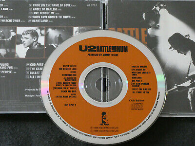 U2 - Rattle And Hum - Club Edition.