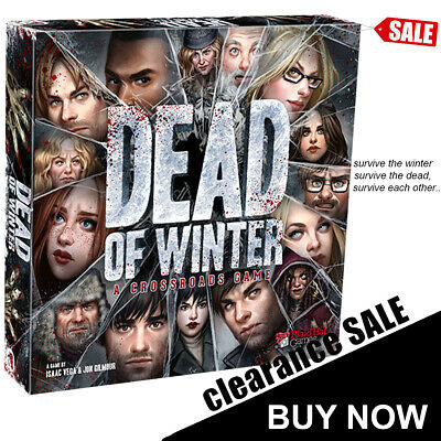 DEAD OF WINTER Board Game Family Game
