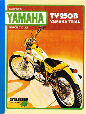 Yamaha Ty250B Service Repair Workshop Service    Manual 1975