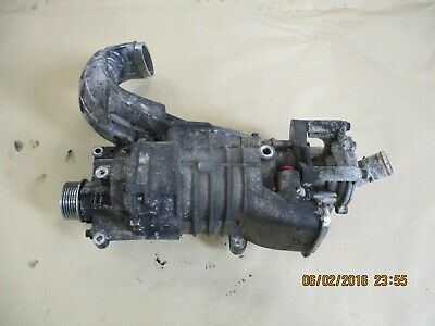 Bmw Mini Cooper S One 1.6 2002 R52 R53 W11 Supercharger Unit With Reduced Pulley
