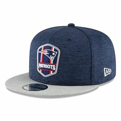 New Era NFL 2018//19 Sideline Road New England Patriots navy 9 fifty Casquette Réglable
