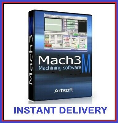 FULLY LICENSED MACH3 CNC Software by Artsoft! Control CNC