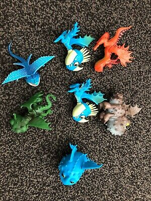 How To Train Your Dragon Mini Figures Action Toy Lot Set
