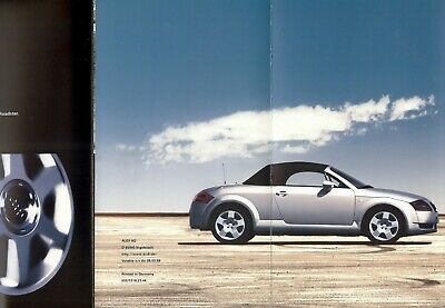"AUDI ""TT"" Roadster - 1st version without ducktail - 1999 - Swiss sales leaflet"