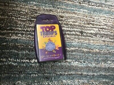 Roald Dahl Goodies and Baddies Top Trumps Collectable