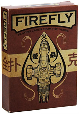 Quantum Mechanix Firefly Playing Cards NEW
