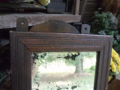 Primitive Antique Wall Mount Cabinet Medicine Chest Spice Cabinet
