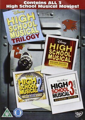 High School Musical 1-3 New DVD Box Set / Free Delivery