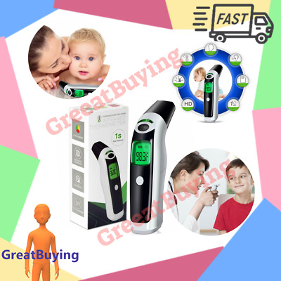 Digital Ear and Medical Forehead Thermometer for Baby Infant Adult with Battery