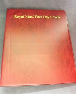Empty Royal Mail First Day Covers Album Binder holds 64 Covers 16 Sleeves FD10