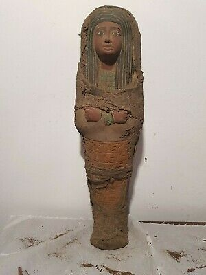 Rare Antique Ancient Egyptian Ushabti Servant minions cook clean1740-1620BC