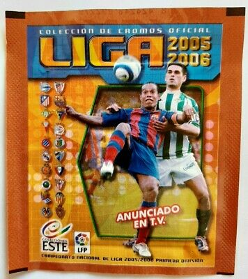 packet panini la liga este 2005 2006 05 06 SOBRE ANCHO (wolrd cup euro packets)