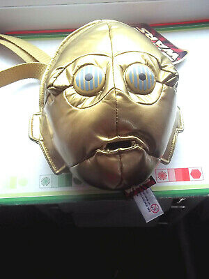 """Starwars Collectables Early? Childs [Over36months] """"3CPO Droid Bum bag"""" Unused"""