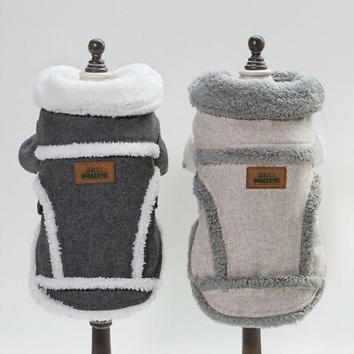 Hot Dog Winter Warm Coat Luxury Jacket Puppy Clothes Pet Clothing Cat Apparel