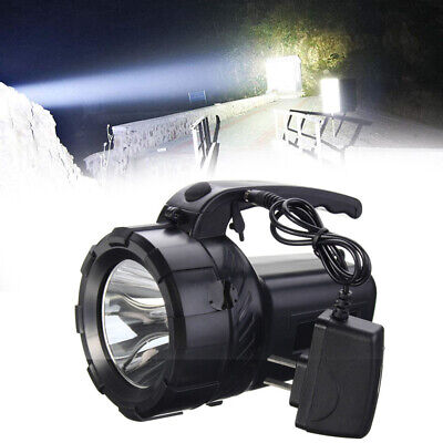 Torch 1 Million Candle Power Spotlight Hand Lamp Rechargeable LED Work Light HOT