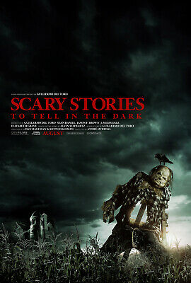 "SCARY STORIES TO TELL IN THE DARK 2019 Ver A DS 2 Sided 27x40"" US Movie Poster"