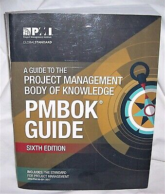PMI A Guide to the Project Management Body of Knowledge PMBOK 6th Edition 2017