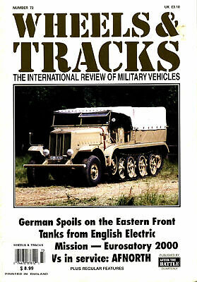 Wheels & Tracks 73 Chevrolet C8Ax_White Scout Car M3A1_Tucker Sno-Cat_Cromwell