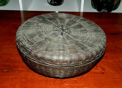 Vintage Chinese Rattan Basket - Well Made