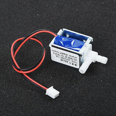 DC 12V ~ Electric Solenoid Valve N/C Normally Closed Mini Water Air Valve New